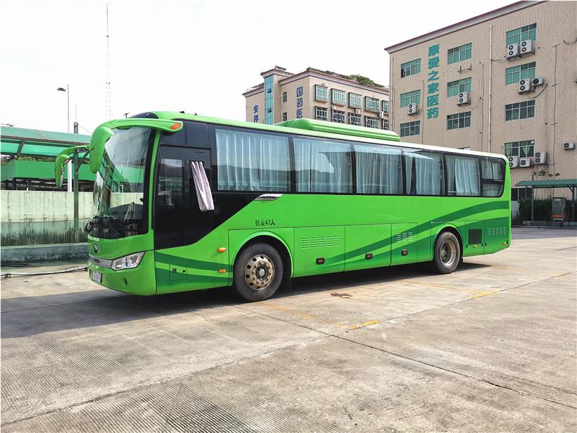 2015年底宇通47座纯电动客车