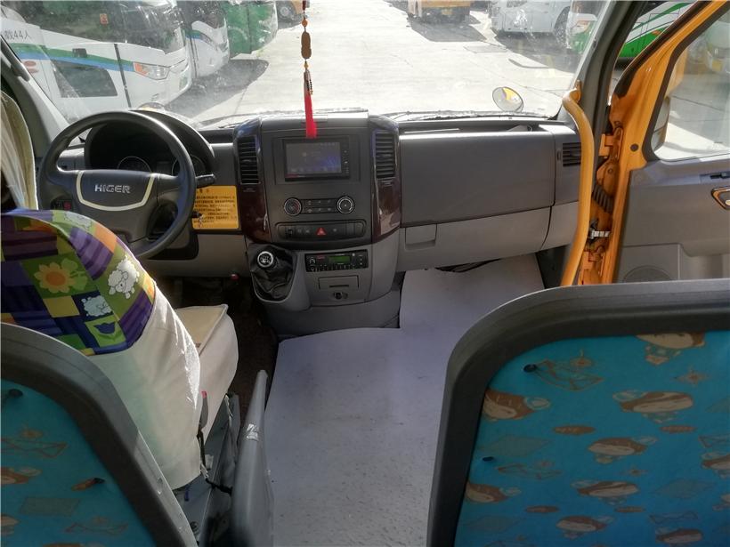 2014年8月19座海格幼儿校车