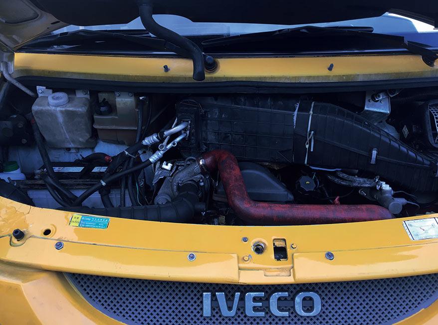 2008年10月14座依维柯都灵柴油版