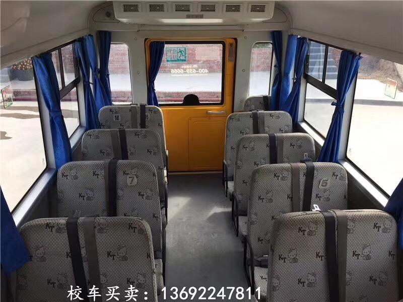 2015年2月19座宇通幼儿校车