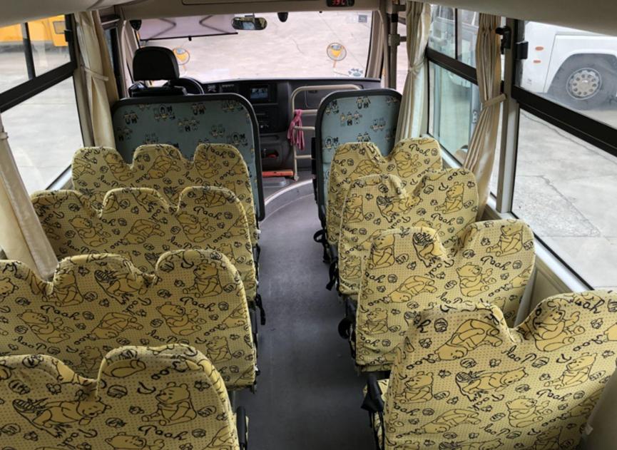 14年9月34座黄海幼儿校车