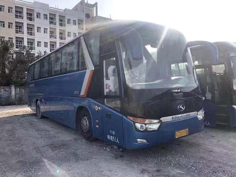 2014年9月大金龙6129型号51座大巴