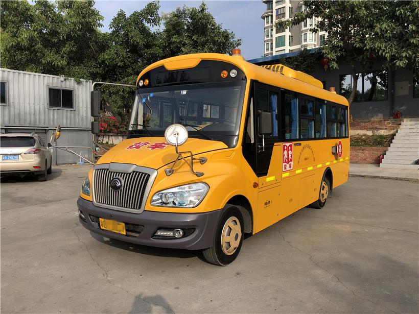 2016年8月份41座宇通幼儿校车